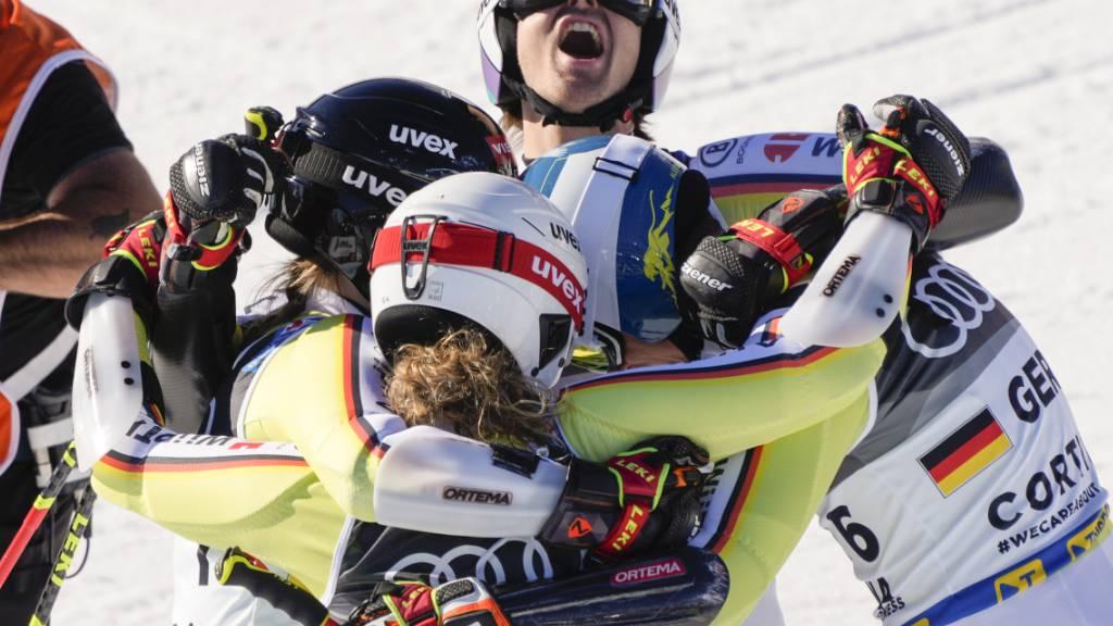 Ein Blick zur Schweizer Konkurrenz in Cortina
