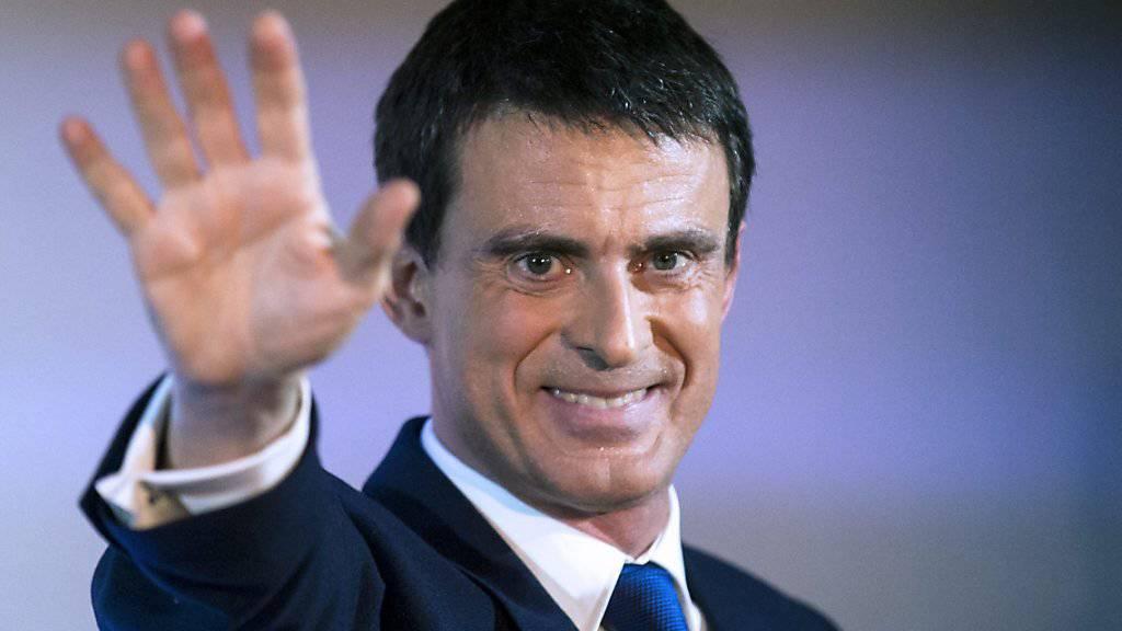 Läuft über zur Partei vom künftigen Präsidenten Macron: Der Sozialist und Ex-Premier Manuel Valls. (Archiv)