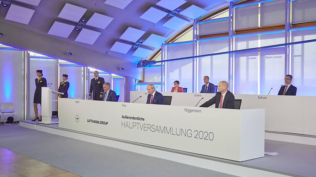 Aktionäre machen Weg frei für Lufthansa-Rettung