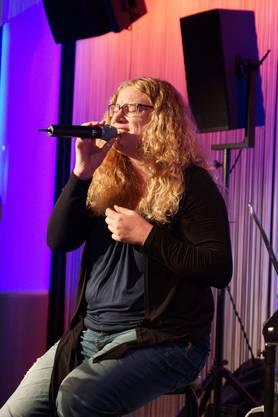 Grandioser Auftritt von Sandra Rippstein im Club Joy.