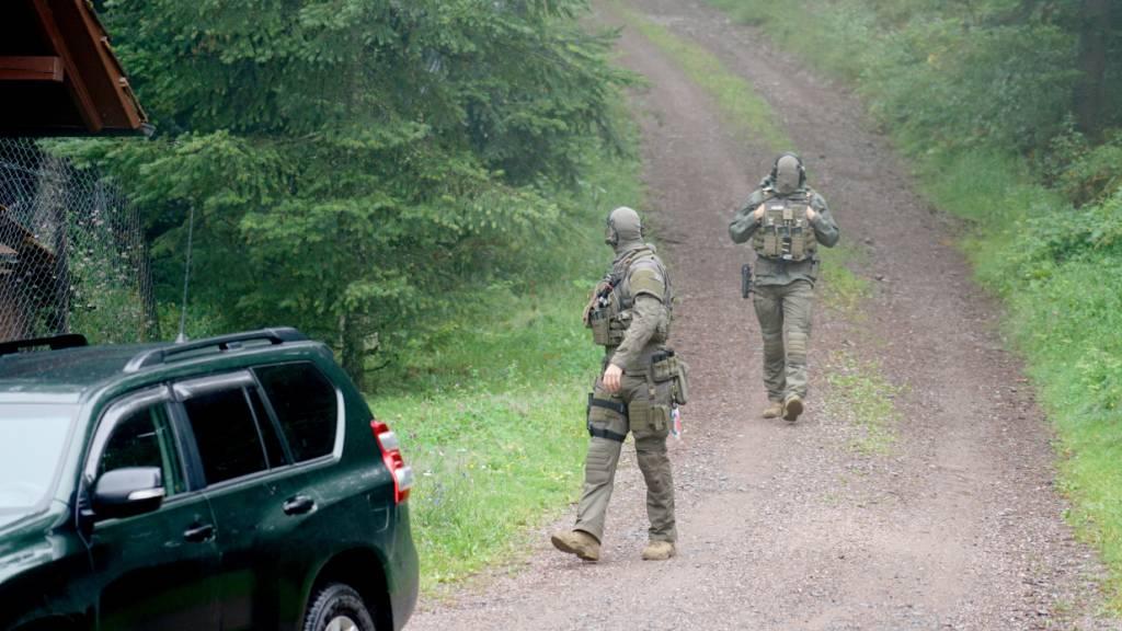 Polizeichef appelliert an flüchtigen Schwarzwald-Mann
