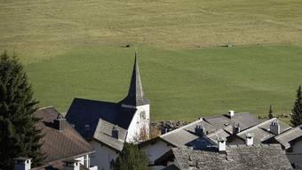 Das Dorf Brigels in der Bündner Surselva.