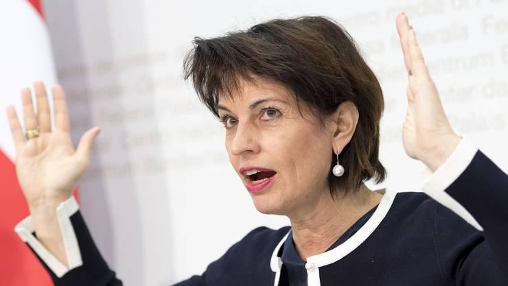 Wir Bundesrätin Doris Leuthard eine neue Energie-Politik angehen können?