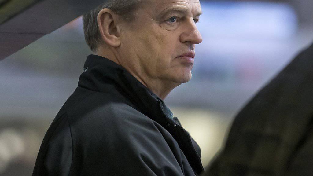 Bei Oltens Coach Bengt-Ake Gustafsson herrscht nach den letzten Resultaten keine Freude
