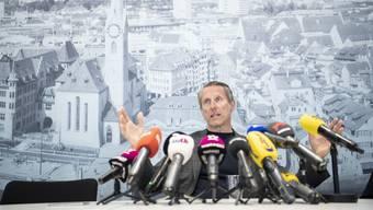 Zermürbt nach fünf aufreibenden Jahren: GC-Verwaltungsratspräsident Stephan Anliker.