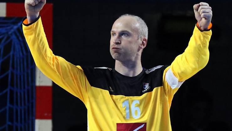 40-jährig und noch immer Weltklasse: Frankreichs Goalie Thierry Omeyer