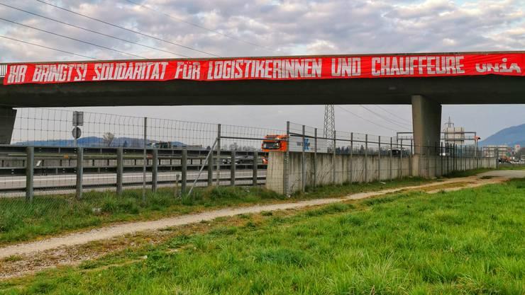 Egerkingen: Logistik und Transport sind in Coronazeiten von grosser Wichtigkeit.