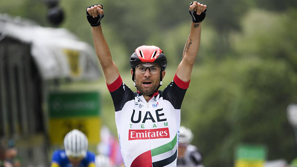 Der Italiener Diego Ulissi ist nunmehr siebenfacher Etappensieger im Giro d'Italia.