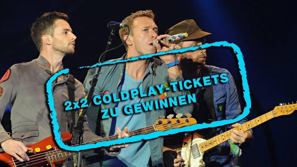 Coldplay Tickets Gewinnen