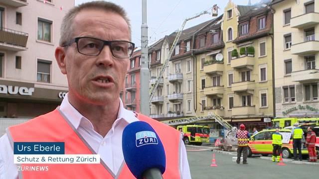 Wohnungsbrand am Albisriederplatz