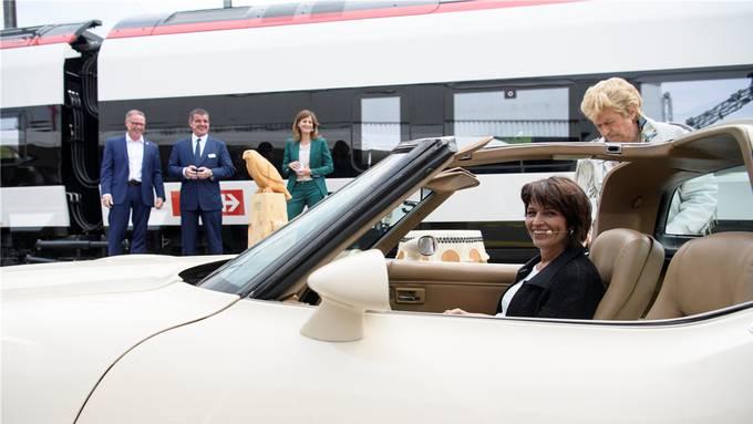 Mobilität sanft liberalisieren: Das war das Ziel der ehemaligen Verkehrsministerin Doris Leuthard. Gian Ehrenzeller/Keystone