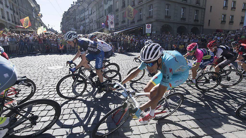 Am Mittwoch rollt die Tour de France nochmals durch die Berner Innenstadt. Die 17. Etappe führt die Fahrer anschliessend durchs Berner Oberland in den Kanton Wallis.