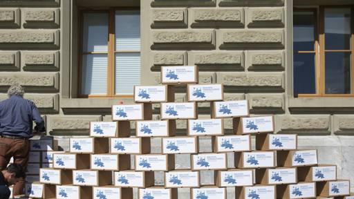 Initiative gegen Massentierhaltung eingereicht