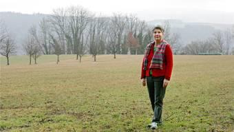 Auf Gertrud Häselis Vorschlag hin hat sich das «Lila»-Organisationskommitee für den Standort Wittnau entschieden.