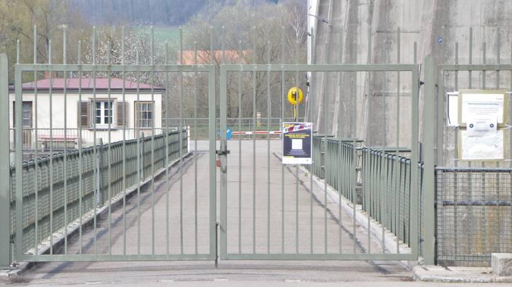 Der Grenzübergang Leibstadt-Dogern ist wegen der Corona-Pandemie gesperrt.
