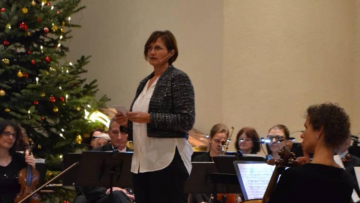 Gemeindepräsidentin Sandra Rottensteiner hielt die Neujahrsansprache.