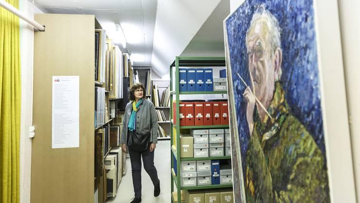 Eröffnung des neues Künstlerarchivs in der ehemaligen Zivilschutzanlage
