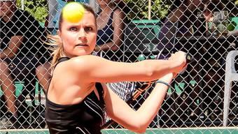 Bruggs Michelle Paroubek siegte im Einzel und im Doppel. Foto: fba