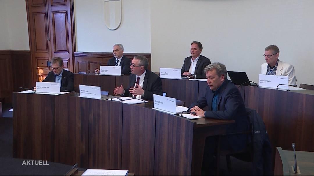 Zwei Regierungsräte in Quarantäne: Roland Heim und Remo Ankli im Homeoffice
