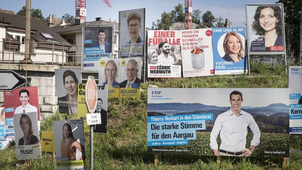 Aargauer SP, CVP und EVP gewinnen Sitz – SVP und FDP verlieren