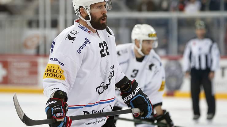 Daniel Steiner (hier noch im Dress von Fribourg-Gottéron) beendet seine Laufbahn