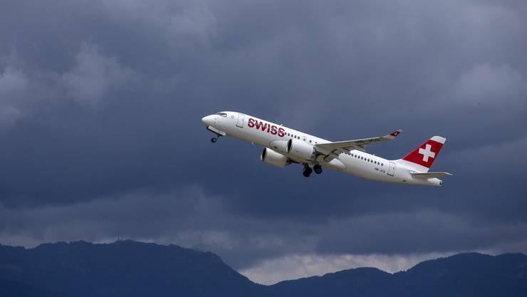 Wegen Corona sind über der Swiss dunkle Wolken aufgezogen.