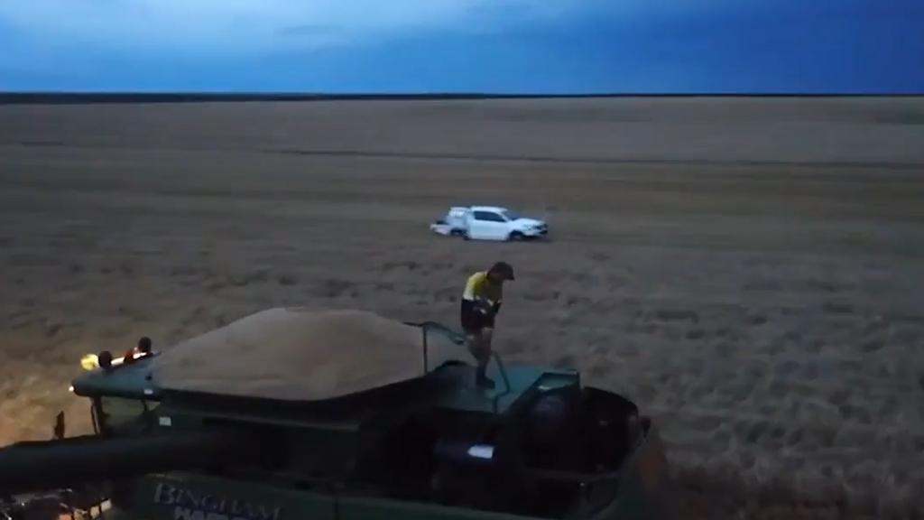 So freuen sich die australischen Bauern über den Regen