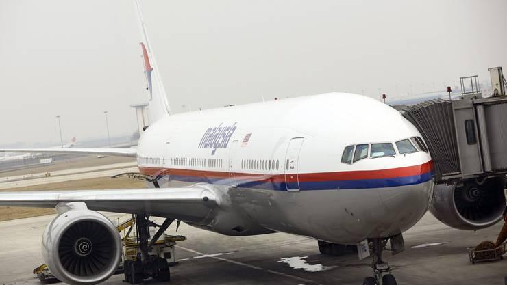 Eine Boeing 777 der Malaysian Airline. (Archiv)