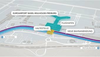 Bahnanschluss an den Euro-Airport sorgt für Kritik