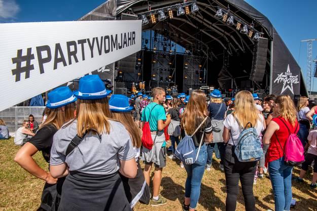 Die Besucher am Argovia Fäscht 2019 in Bildern.