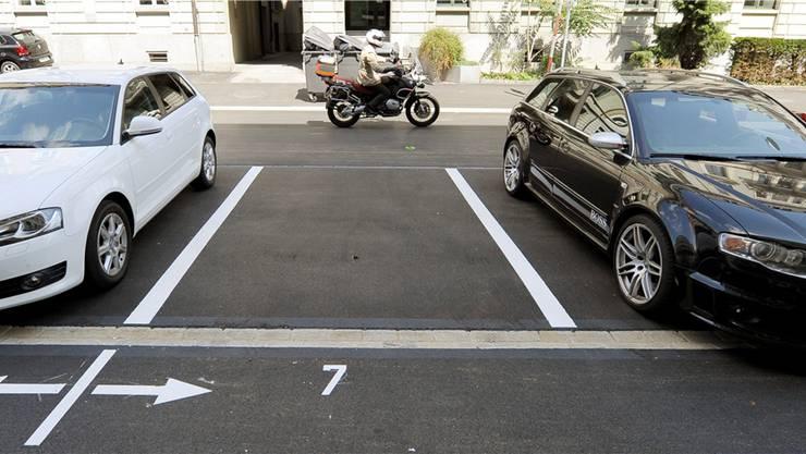 Jeden Parkplatz, der aufgehoben wird, muss durch einen neuen (unterirdischen) kompensiert werden. (Symbolbild