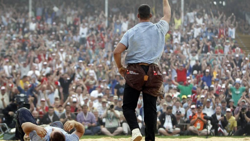 Das Schwing- und Älplerfest findet in diesem Jahr vom 26. - 28. August in Estavayer statt.