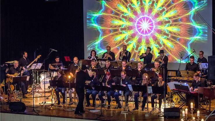 Das Opus One Orchestra wusste unter der Leitung von Bandleader Walter Vonarburg zu überzeugen.