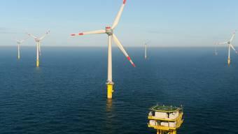 Der Offshore Windpark entsteht westlich der bekannten Ferieninsel (Symbolbild)