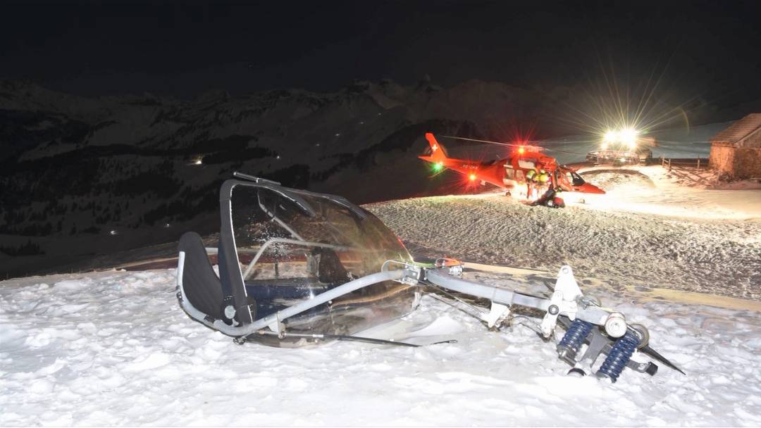 Sondersendung: Sessellift-Unfall auf dem Stoos