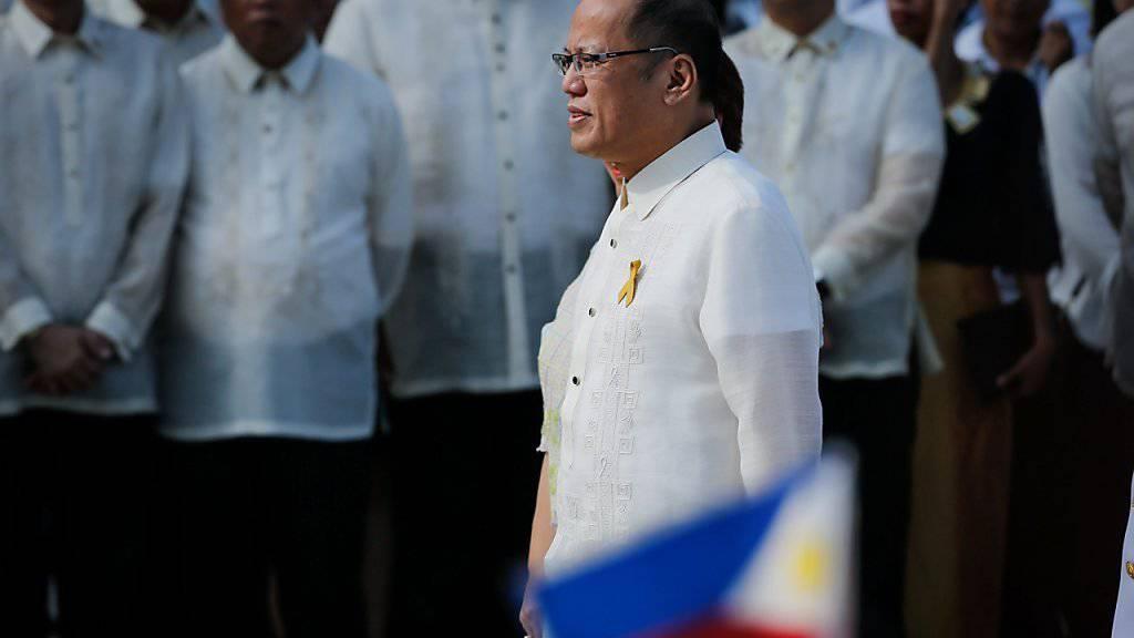 Der scheidende philippinische Präsident Benito Aquino warnt am Unabhängigkeitstag seines Landes vor seinem Nachfolger im Präsidentenamt.