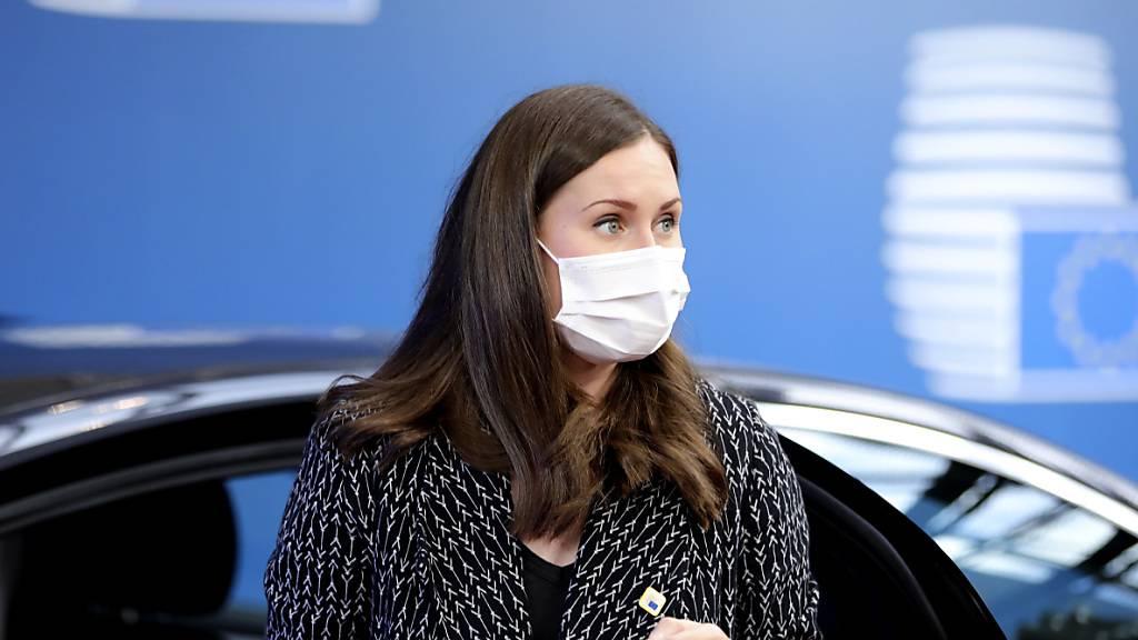 Finnische Regierungschefin verlässt EU-Gipfel nach Corona-Kontakt
