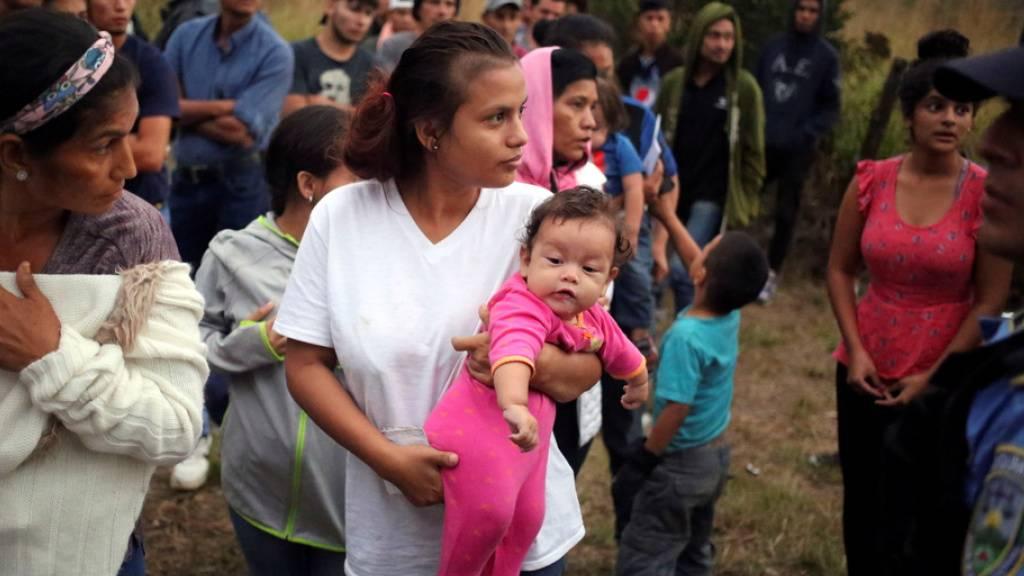 Mexiko will 3000 Flüchtlingen Jobs statt Durchreise anbieten