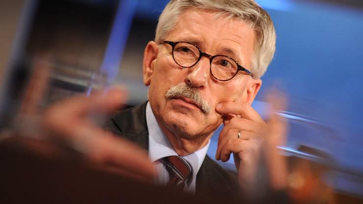 Der deutsche SPD-Politiker und Buchautor Thilo Sarrazin. (Archiv)