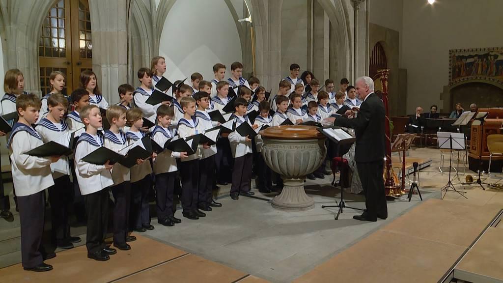 Zürcher Sängerknaben verbreiten Weihnachtsstimmung