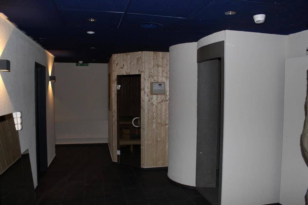Zum Schluss nochmals eine Sauna. Für eine extra Portion «schwitzen». (© FM1Today/Vanessa Kobelt)