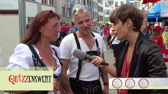 Quizzenswert am Volksmusikfest in Aarau