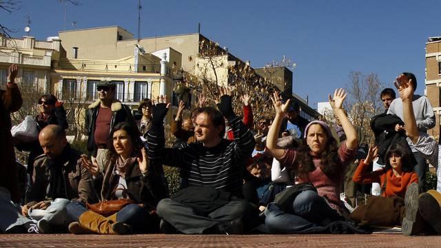 Junge Leute in Madrid (Symbolbild)