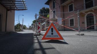 Zum Grenzübergang Ligornetto (TI), der bereits geöffnet ist, werden ab 11. Mai fünfzehn weitere Übergänge geöffnet.