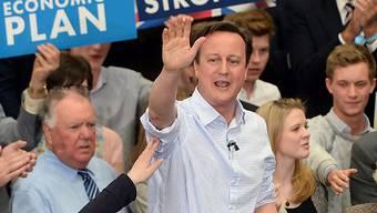Der alte und neue Premierminister Grossbritanniens: David Cameron.