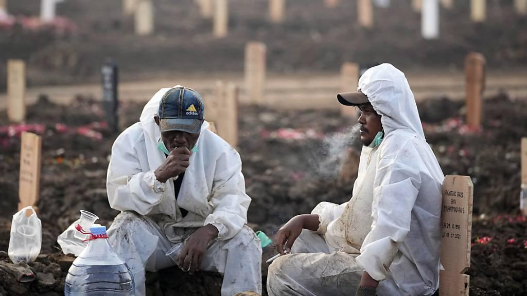 US-Forscher: Bereits vier Millionen Corona-Tote weltweit