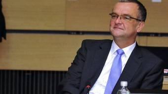 Der tschechische Finanzminister Miroslav Kalousek (Archiv)