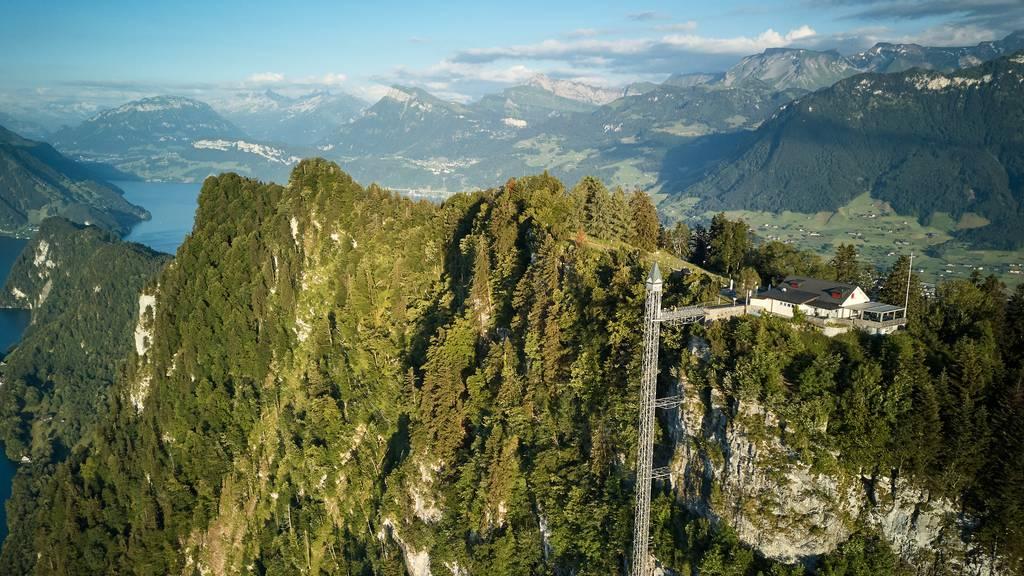 Tellpass Ausflugsfahrt mit dem Hammetschwand-Lift – 58 Sekunden Adrenalin pur!