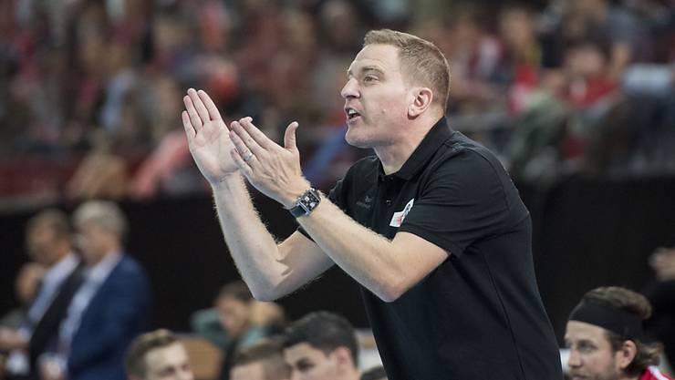 Nationaltrainer Michael Suter kann auf seine Spieler stolz sein