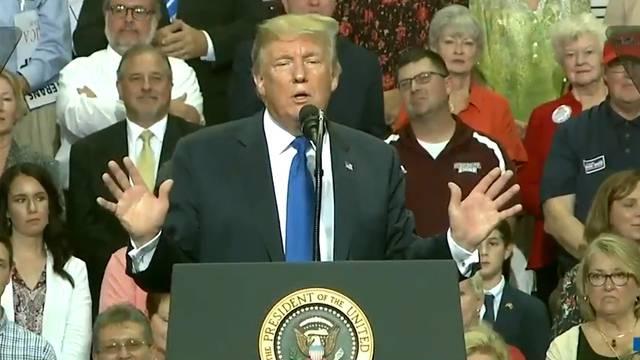 """Trump macht sich lustig: """"Hatte ein Bier..."""""""